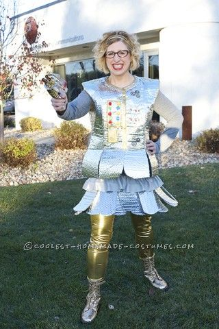 My costume idea came from wanting a cool robot costume that incorporated non-traditional materials. One of my main goals was making a costume I could ...