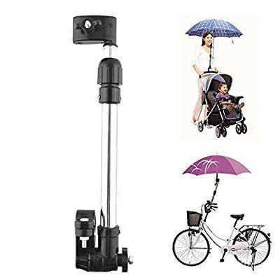 Eximtrade Bebè Bambino Carrozzina Passeggino Bici Bicicletta Ombrello Supporto Accessori