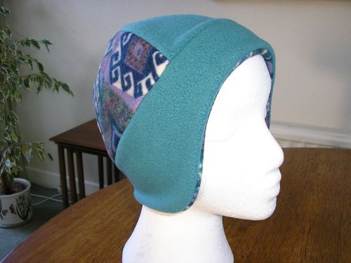 Jade & Multicolour Small Ski Hat from JacarandaUnique Age 5 upwards. £8.99