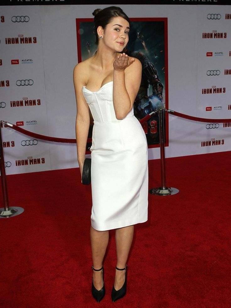 maia mitchell ironman 3  | Maia Mitchell Picture 8 - Iron Man 3 Los Angeles Premiere - Arrivals