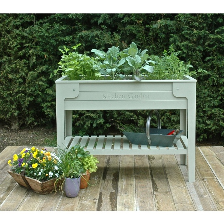 33 Best Images About Raised Gardens Planters For Herbs