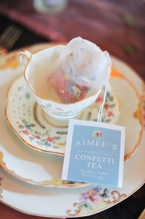 Colorful+Confetti+Tea+for+a+Spring+Bridal+Shower+Tea+Party+|+Tonie+Christine+Photography+|+See+More!+http://heyweddinglady.com/vintage-spring-anthropologie-inspired-bridal-shower/