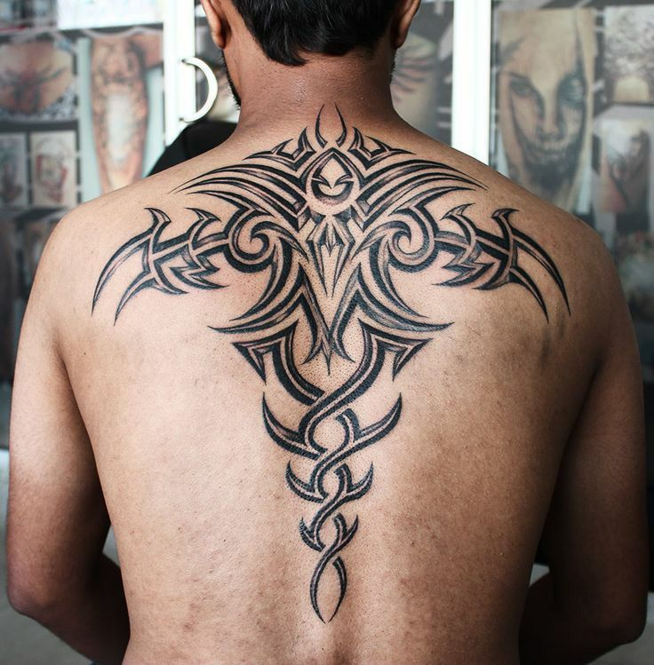 Men Back Tattoos Back Tattoos For Guys Tattoos For Guys Tribal Tattoos For Men