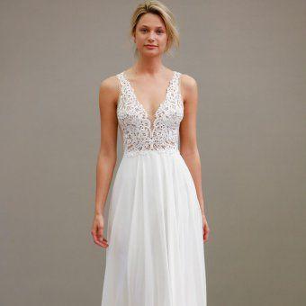 Robe de mariée style empire Tara Keely 2016