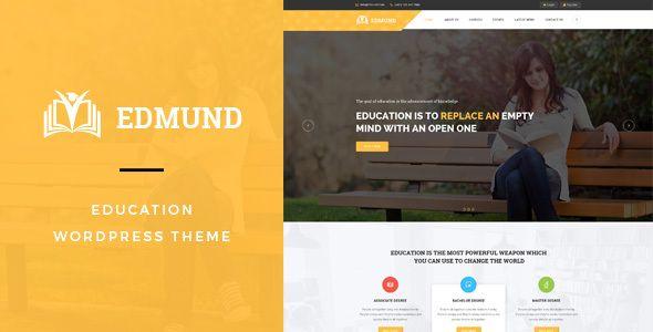 Edmund - Responsive Education WordPress Theme - Education WordPress