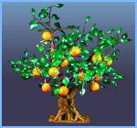 светодиодные фруктовые деревья