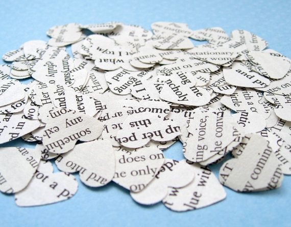 Novel Wedding Gifts: Best 25+ Wedding Confetti Ideas On Pinterest