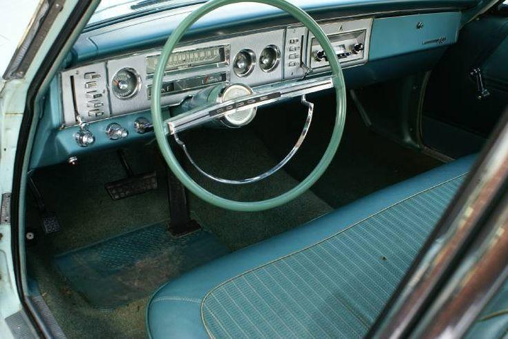 Dodge Polara 1964 interior - Sök på Google