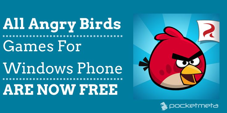The good news is, if you're a Windows Phone user, all Angry Birds games available for the platform are now free. And it seems like the change is permanent.#windowsphonengames #windowsphone