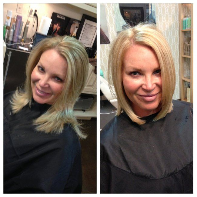 Before And After Keratin Concept