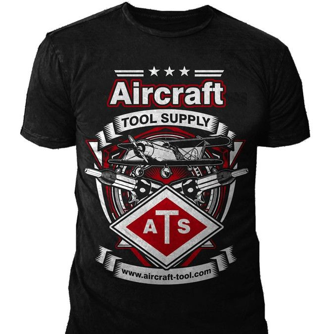 Create an Aviation Mechanic inspired T-shirt for Aircraft Tool Supply! by ***Bleed***