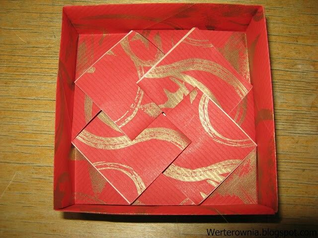 #Werterownia #origami #pudełko #box