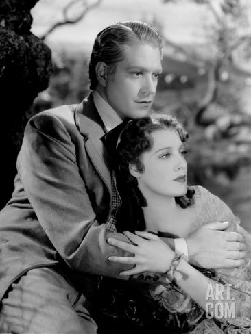 """Nelson Eddy and Jeanette MacDonald from """"Maytime"""""""