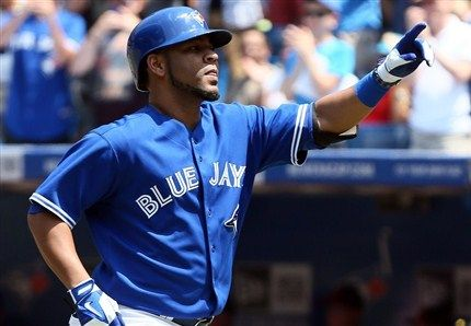 Jays on an 11 game win streak! Edwin Encarnacion (Photo: The Canadian Press)