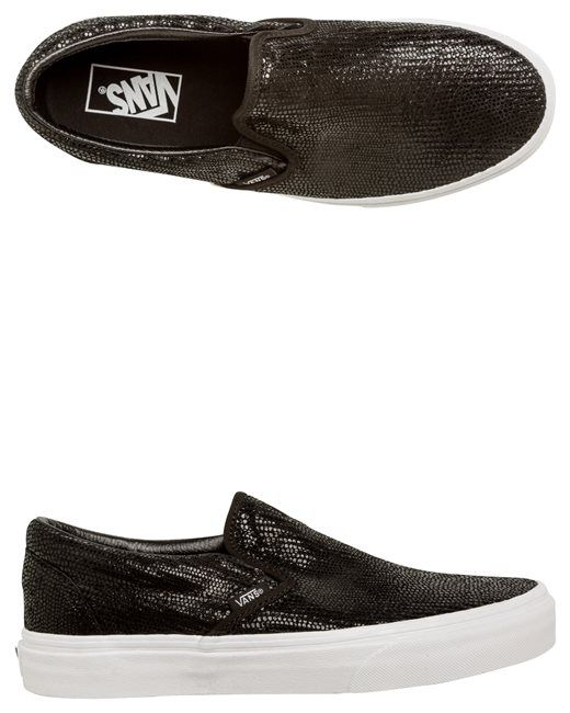 VANS PEBBLE SNAKE CLASSIC SLIP ON SHOE