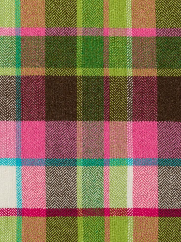 AVOCA Herringbone Weave Wool Fabric – Bubblegum Pop – Fabworks Online