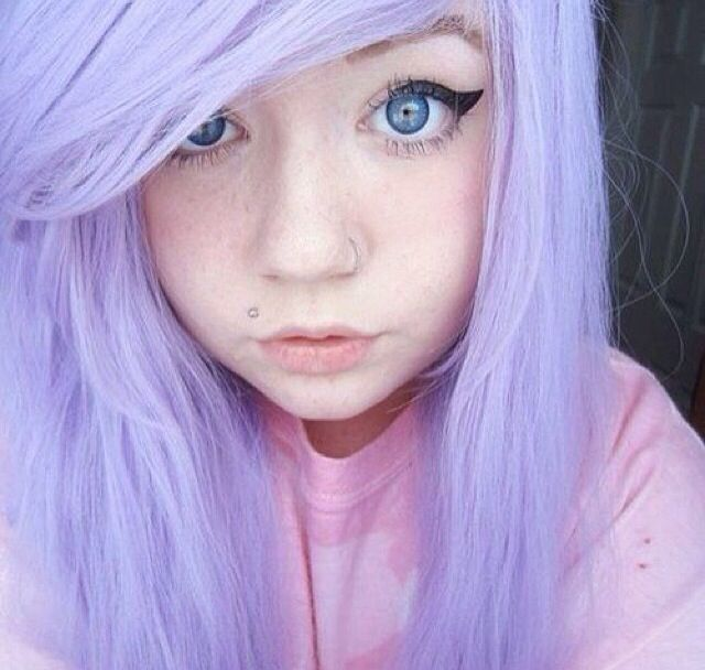pastel purple scene hair hair pinterest scene hair