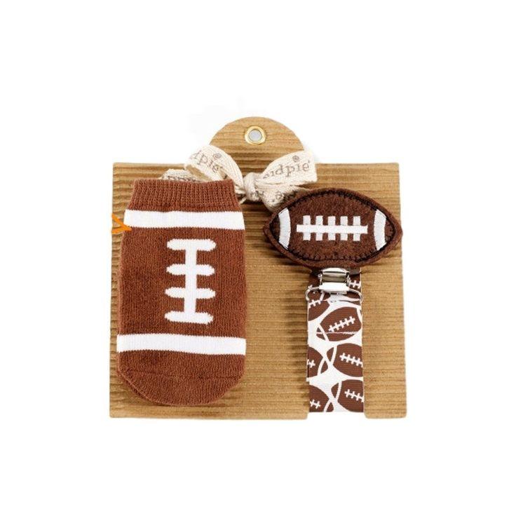 Mud Pie-Football Sock & Pacy Set