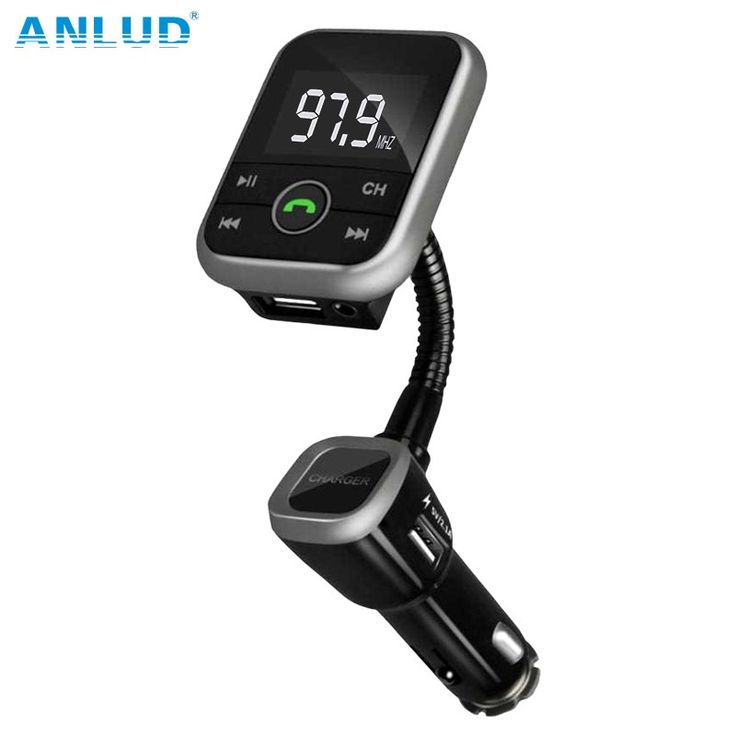 Big discount US $17.21  ANLUD New Wireless Bluetooth LCD FM Transmitter Modulator Car Kit USB Charger MP3 Player Support USB SD Card  For iPhone Samsung  #ANLUD #Wireless #Bluetooth #Transmitter #Modulator #Charger #Player #Support #Card #iPhone #Samsung  #CyberMonday