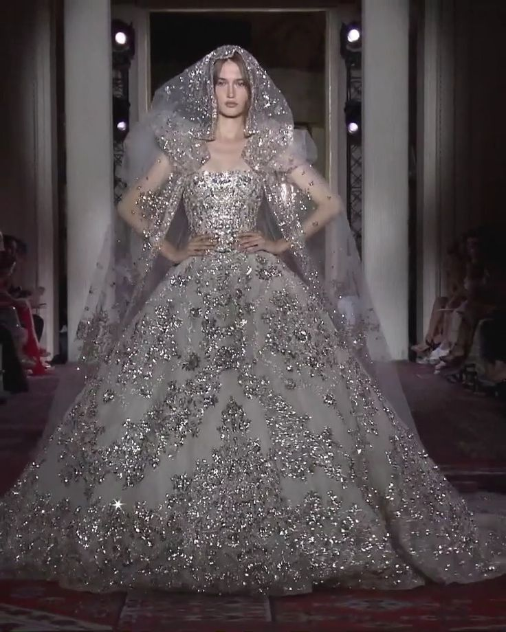 Zuhair Murad Look 51. Fall Winter 2019/2020 Couture Collection
