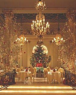 Christmas Tea at the London Ritz  #RePin by AT Social Media Marketing - Pinterest Marketing Specialists ATSocialMedia.co.uk