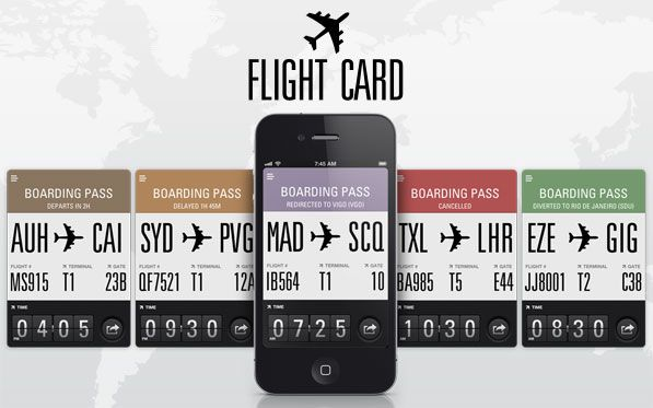 Flight Card iPhone App