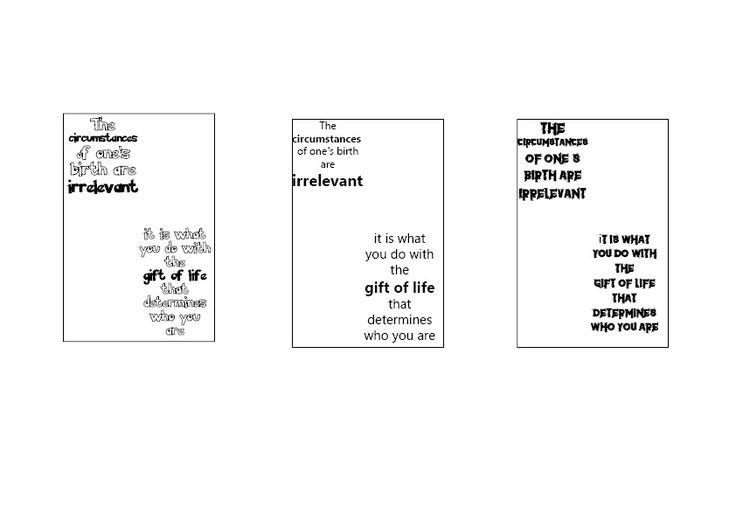 typografie onderzoek