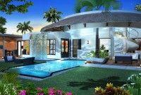 Villa RES en vente à Trou aux Biches Accessible aux étrangers. Situées dans une résidence de 25 villa au total avec sécurité 24/24 et à 150 metres de la mer, 10 minutes de Grand Baie. Déjà construites sur un terrain de 650 m², ayant une surface habitable entre 270 - 300 m², de 3 ou 4 chambres, piscine, terrasse circulaire sur le toit. En option pack meubles et jacuzzi. Prix à partir de rs 29,480,000 exclus les frais.  MB Immobilier 2639124 / 57195443 / 59706281 / 59287996 Prix: Rs 29.480.000