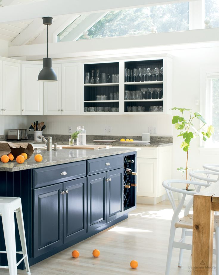 Color Trends Color Of The Year 2020 First Light 2102 70 Benjamin Moore Kitchen Trends Kitchen Cabinet Colors Modern Kitchen Cabinets