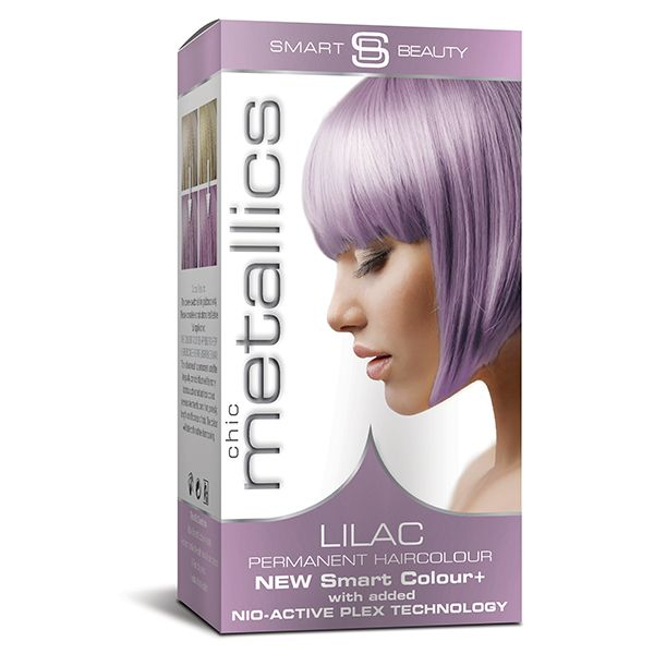 Metallic Lilac Purple Pastel Hair Dye Permanent Hair Colour