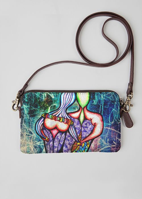 Statement Clutch - Breaking Thru Boundaries by VIDA VIDA BWhcd