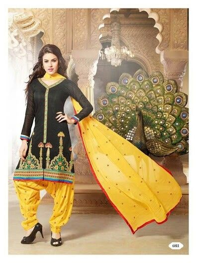 Unstitched Patiala punjabis available