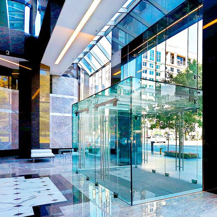 Structural Glass Vestibules Glass Entrance Doors Glass