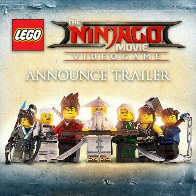 The new game The Lego Ninjago Movie