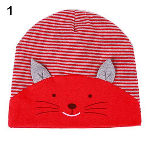 >> Click to Buy << Bluelans Cute 3D Cat Striped Baby Kid Boy Girl Soft Warm Hat Cap Cotton Beanie #Affiliate