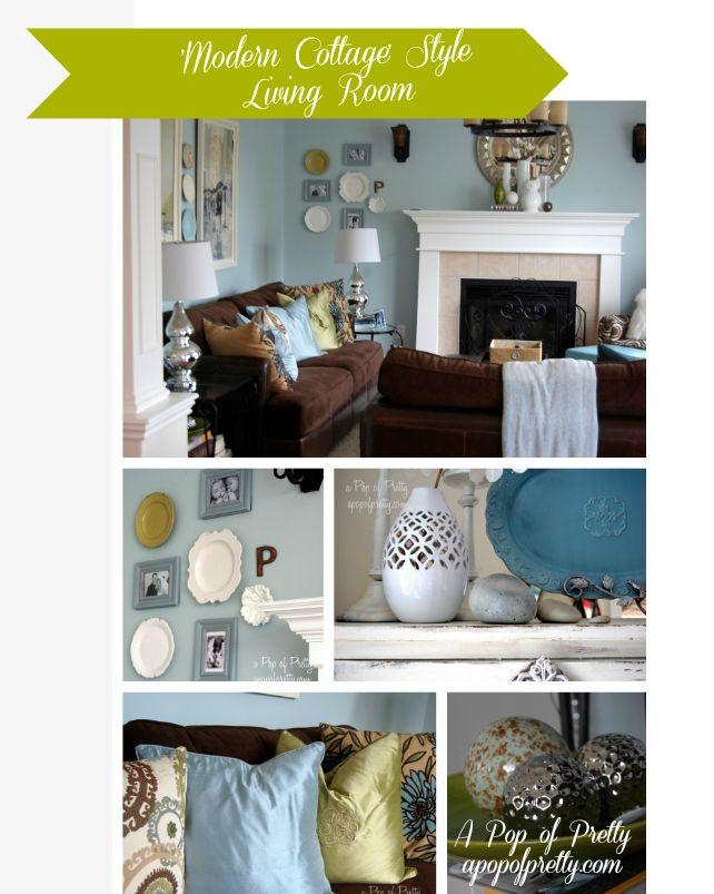 DIY::  Cottage Living Room Makeover ( Excellent Tips & Tutorials !)