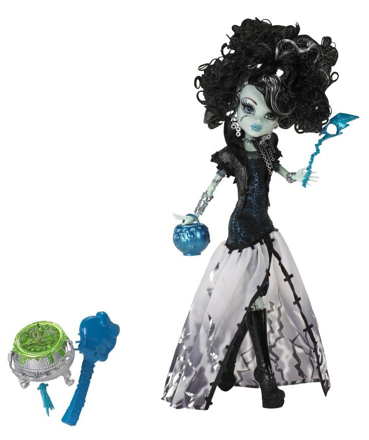 "Charakter aus der Monster High DVD ""Ghouls Rule""  X3714 Frankie Stein"