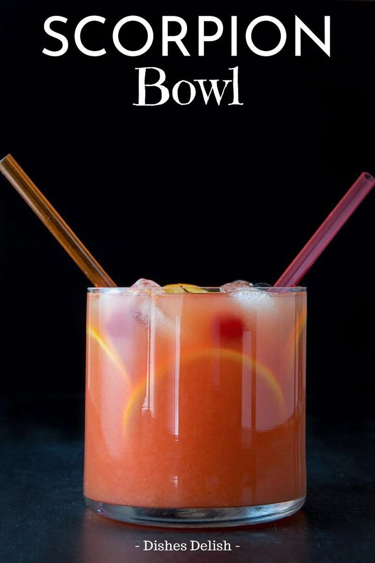 Jun 23, 2020 – If you are looking for a cocktail that packs a punch, then this scorpion bowl is the drink for you! Almos…