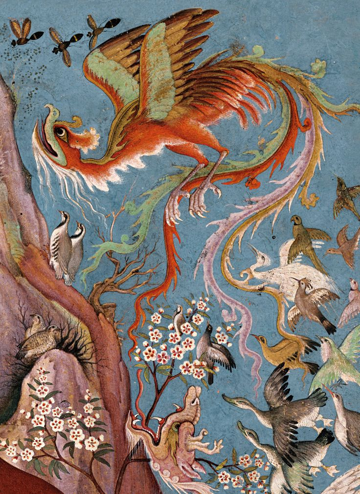 Le Cantique des oiseaux d''Attâr illustré par la peinture en Islam d'orient de Farid-Ud-Din ATTAR () | l'autre LIVRE