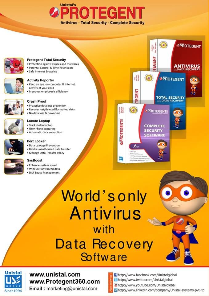 Protegent Complete Security - World's Only Antivirus with