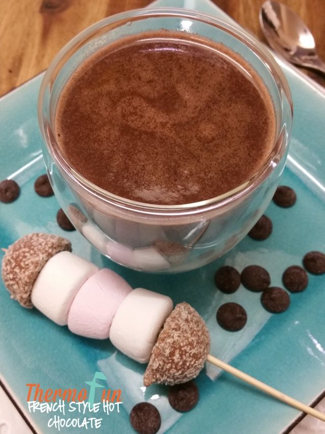 French Style Hot Chocolate - Thirsty Thursday - ThermoFun | ThermoFun | Thermomix Recipes & Tips