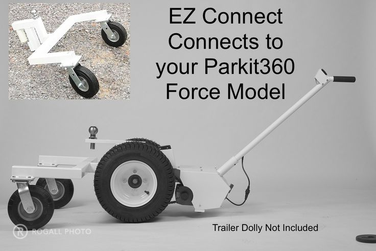 EZ Connect for Parkit360 Force trailer dolly