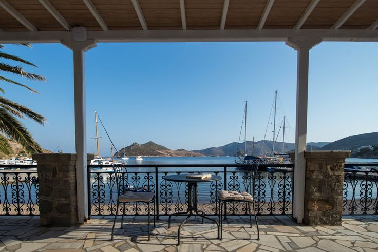 Defining sea view. | #silverbeach #hotel #patmos