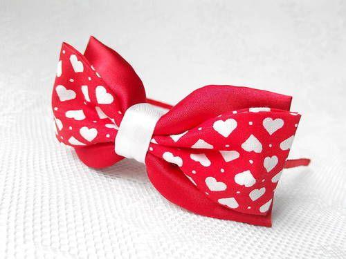 Lovely Valentine headband #love #laska #valentin #celenka