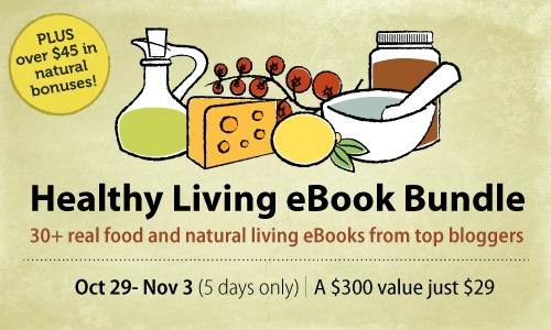 Last day of the Healthy Living eBook sale! This makes an amazingly thoughtful holiday gift!