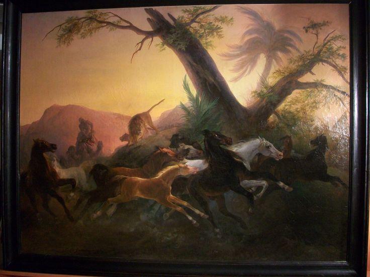 OLio su tela, cm. 199 x 149 con cornice cm. 218 x 178. www.antichitapietrolupi.com facebook antichità pietro lupi www.anticoantico.com tel +39 335 341214