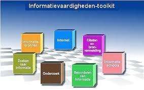 Wil volgend schooljaar een start maken een leerlijn informatievaardigheden op te zetten.
