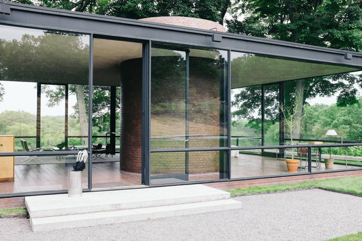 18 best structures glass house philip johnson images on pinterest glass houses - Philip johnson glass house ...