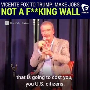 A little reminder from our sassy friend and former Mexican President Vicente Fox Quesada that Mex #news #alternativenews