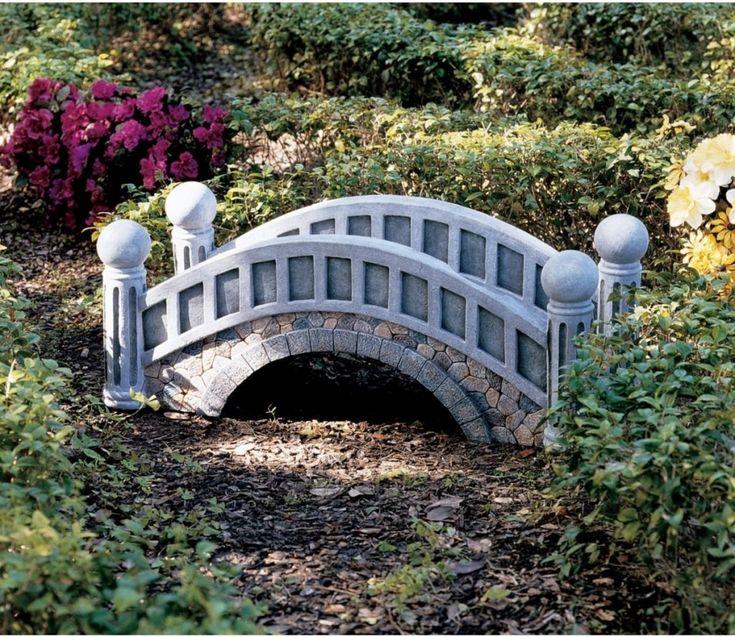17 best images about garden bridges on pinterest gardens for Garden pond bridge